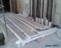 سیستم لوله کشی گاز ساختمان سیستم حرارتی لوله کشی