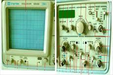 برق الکترونیک مهندسی نوسان نما اسیلوسکوپ Oscilloscope دستگاه الکترونیکی پارامتر ولتاژ پارامترها عرض پالس دوره تناوب زمان حادثه
